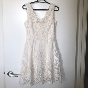 Yoana Baraschi Lace Dress